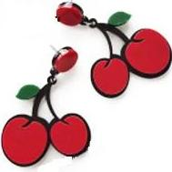 Earrings - Cheesy Cherry-JEWELLERY-PropShop24.com