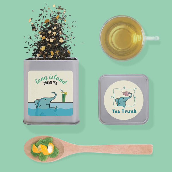 green tea - long island - set of 15-Food-PropShop24.com