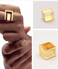 Geometric finger ring-JEWELLERY-PropShop24.com