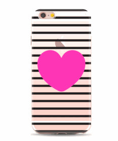 Heart on stripes cover- iPhone 6 or 6s-GADGETS-PropShop24.com