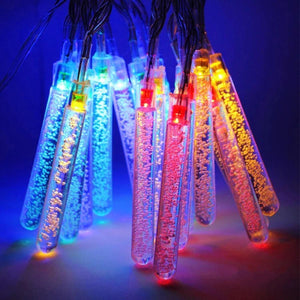 Quirky Test Tube Bubble LED String Lights 2 Meter 20 Tubes - Multicolour - Pack Of 2-HOME ACCESSORIES-PropShop24.com