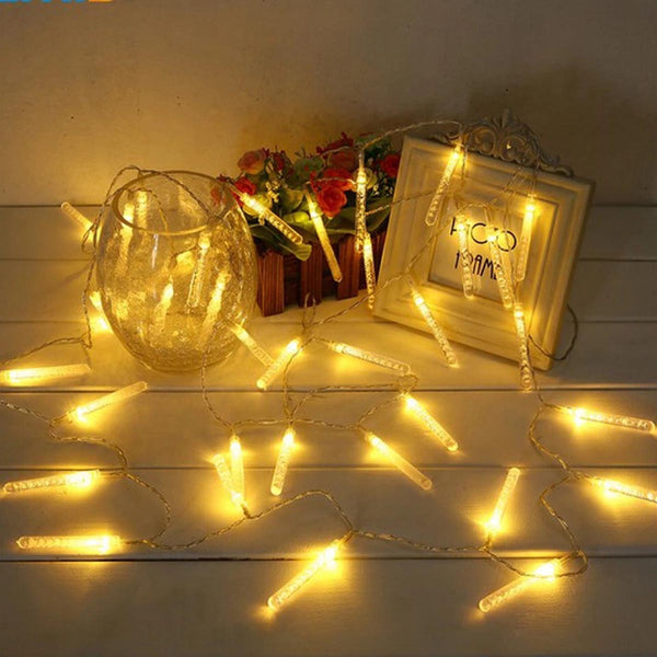 Quirky Test Tube Bubble Led String Lights 1 Meter 10 Tubes - Warm White - Pack of 2-HOME-PropShop24.com