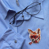 Broochpin - Wild Fox-FASHION-PropShop24.com