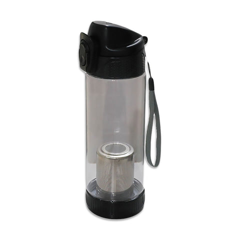 Tea Bottle- Flip Top (BLACK)