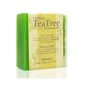 Handmade Soap - Clarifying Tea Tree Cleansing Bar-BEAUTY-PropShop24.com