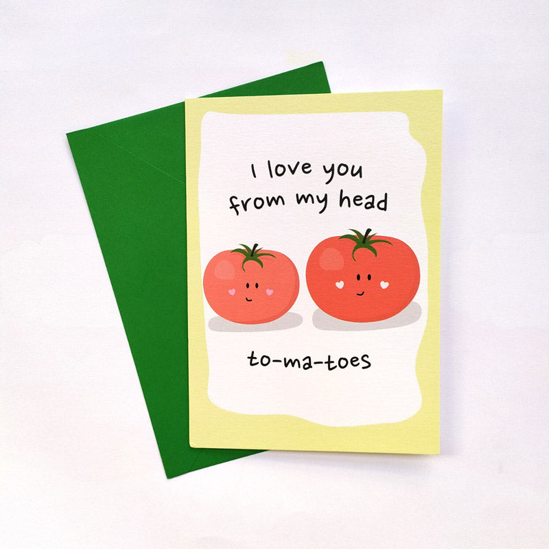 Greeting Card - To-Ma-Toes-GREETING CARDS-PropShop24.com