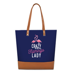 Tote Bag - Crazy Flamingo Lady-Fashion-PropShop24.com