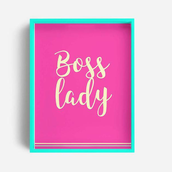 Tray / Desk Organizer - Boss Lady-Stationery-PropShop24.com