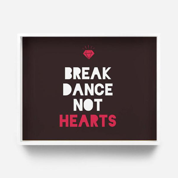Tray / Desk Organizer - Break Dance Not Hearts-Stationery-PropShop24.com