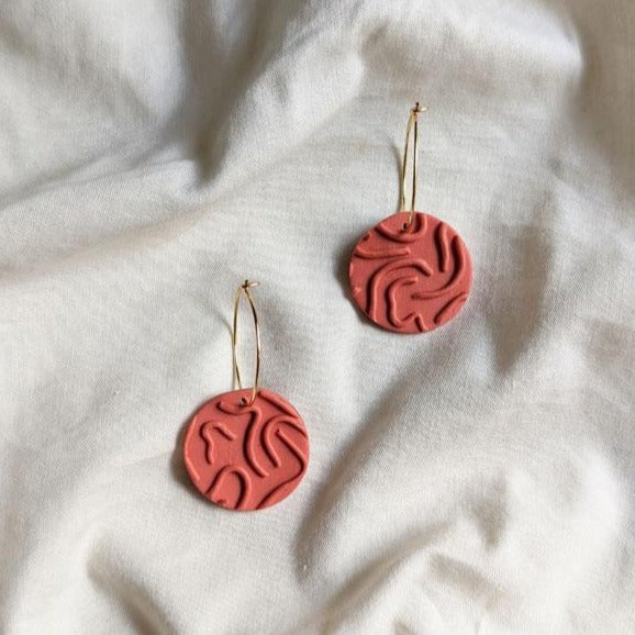 Earrings - Unfinished Business-EARRINGS-PropShop24.com