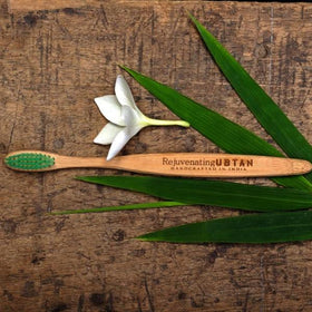 Bamboo Toothbrush - Green Colour-BEAUTY-PropShop24.com