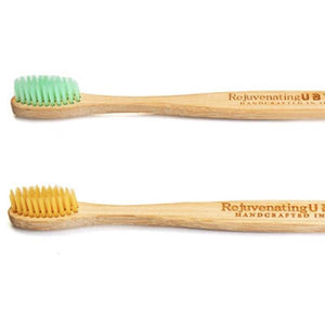 Bamboo Toothbrush - Pack Of 2-BATHROOM ESSENTIALS-PropShop24.com