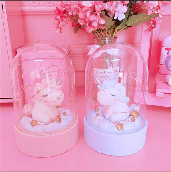 Unicorn Fairy Light Dome-HOME ACCESSORIES-PropShop24.com