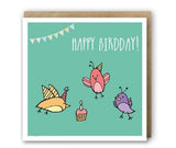 Greeting Card - Happy Birdday-Stationery-PropShop24.com