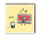 Greeting Card - Old School Dad-Stationery-PropShop24.com
