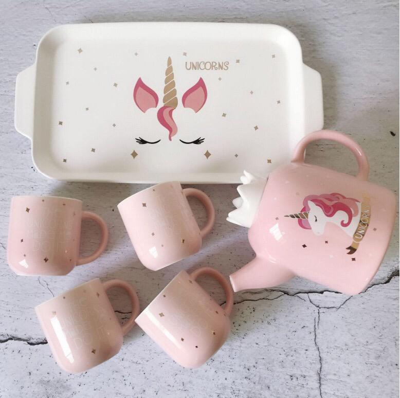 Unicorn Teapot Kettle - Set Of 6-DINING + KITCHEN-PropShop24.com