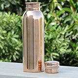 Bottles - Rose Gold - Copper Bottle Gloss Finish - 950ml-HOME-PropShop24.com