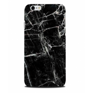 Phone Cover - Marble - Black - Samsung S7 Edge-PHONE CASES-PropShop24.com