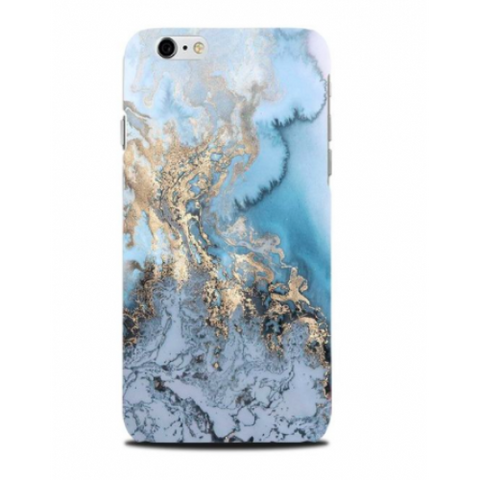 phone cover - marble - blue and gold-Gadgets-PropShop24.com