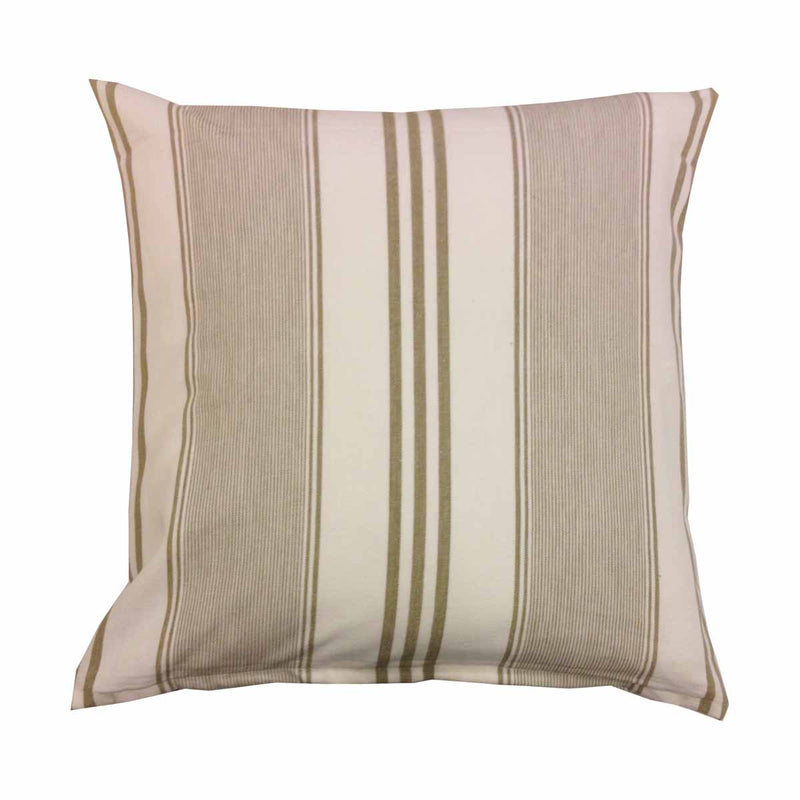Cushion Cover - White and Beige Stripes-HOME ACCESSORIES-PropShop24.com