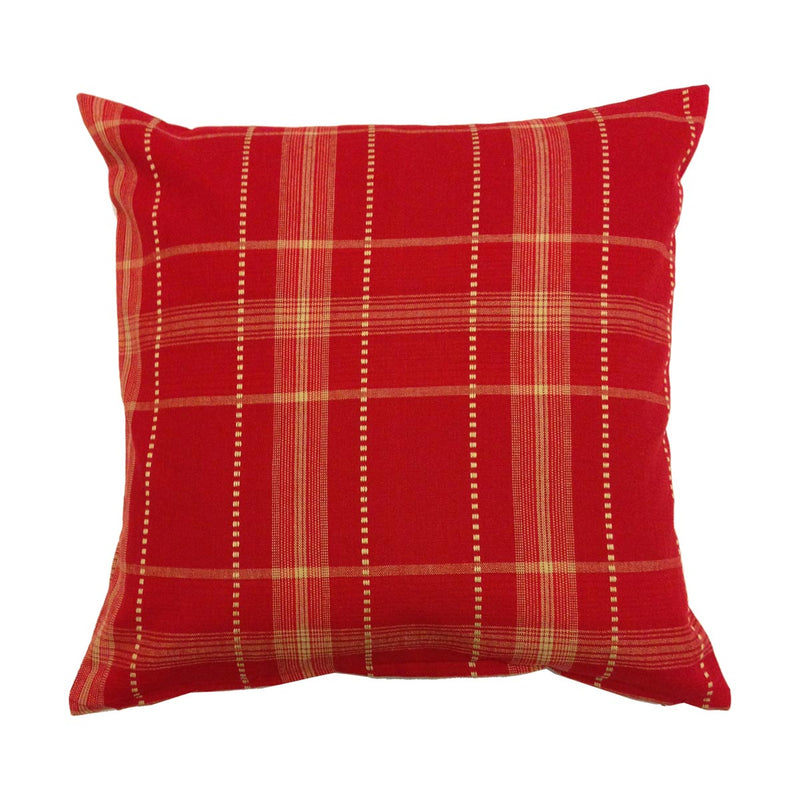 Cushion Cover - Red White Checks-HOME ACCESSORIES-PropShop24.com