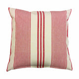 Cushions - White & Red stripes-Home-PropShop24.com