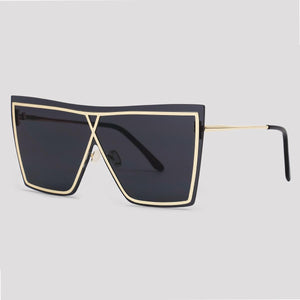 Vegas - Black And Gold - Far Left Sunglasses-WOMEN-PropShop24.com