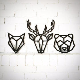 Wall Art - Geometric Animal - Set of 3-HOME-PropShop24.com