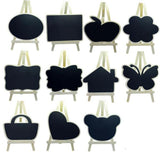 Assorted Chalkboard Easels - Small-STATIONERY-PropShop24.com