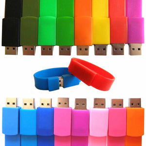 Wristband Usb Drive 32Gb (Assorted)-GADGET ACCESSORIES-PropShop24.com
