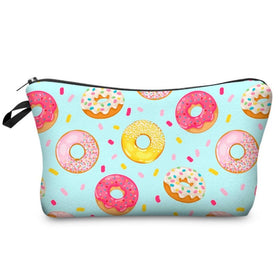 Winning Donuts Makeup Pouch
