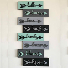 8 Words Wall Frame-HOME-PropShop24.com