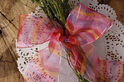 RIBBON - wired - stripes sheer-Stationery-PropShop24.com