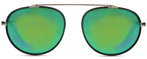 Aviator Glossy Green Sunglasses-FASHION-PropShop24.com