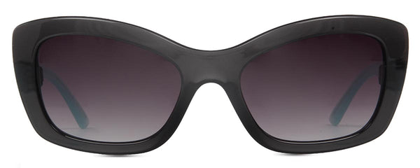 Cateye Glossy Blue And Black Sunglasses-FASHION-PropShop24.com