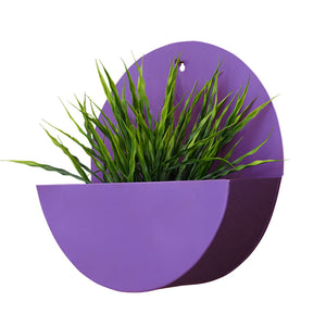 Lunar Round Mounted Wall Planter-HOME ACCESSORIES-PropShop24.com