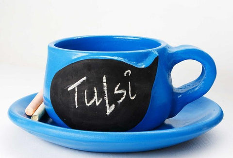 Write-on-me Planter - Speech Bubble Blue