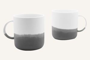 Mug - Porcelain - Set Of 2 - 350 Ml-DINING + KITCHEN-PropShop24.com