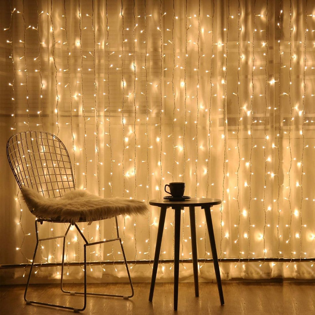 Curtain LED String Light - 9 Feet-HOME ACCESSORIES-PropShop24.com