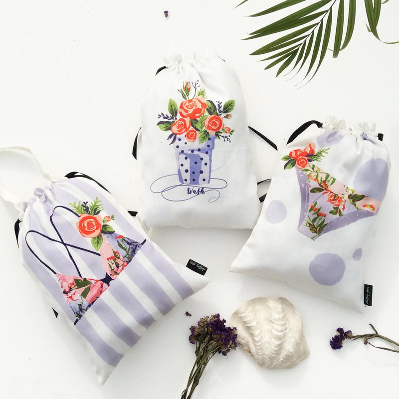 Lingerie Bags - Set Of 3-TRAVEL ESSENTIALS-PropShop24.com