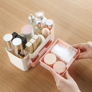 Makeup Organizer With Drawers - Single Piece-ORGANIZERS + STORAGE-PropShop24.com