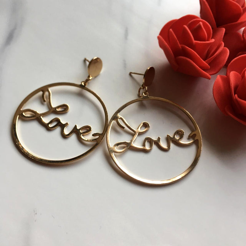 Brisa Love Earrings-EARRINGS-PropShop24.com