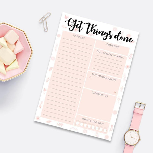 Get Things Done Day Planner | A5 Size-STATIONERY-PropShop24.com