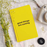 Draft Classic Notebook - Good Things Are Coming-STATIONERY-PropShop24.com