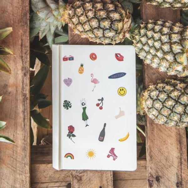 Draft Classic Notebook - Beach Please-STATIONERY-PropShop24.com