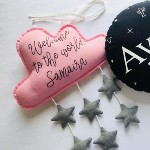 Plushie - Welcome To The World - Pink-HOME ACCESSORIES-PropShop24.com