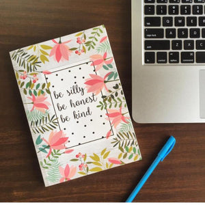 Notebook - Be Silly-NOTEBOOKS + JOURNALS-PropShop24.com