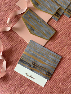 Personalized Notecard Set - Pastel Marbled - C.O.D Not Available-GIFTING ACCESSORIES-PropShop24.com