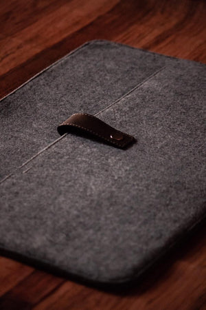 Laptop Sleeve - Loop It Felt - Light Grey-LAPTOP SLEEVES-PropShop24.com