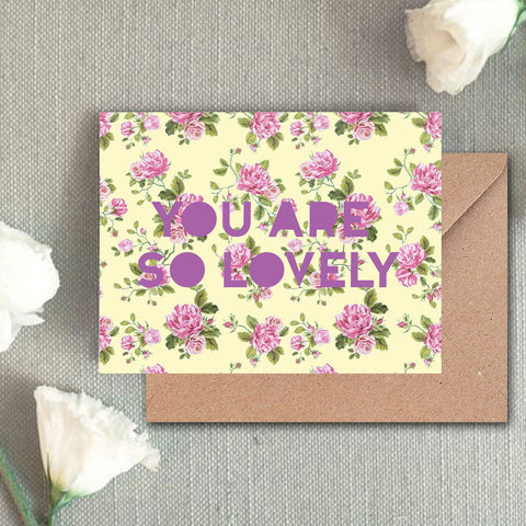Greeting Card - You're so lovely-Gifting-PropShop24.com